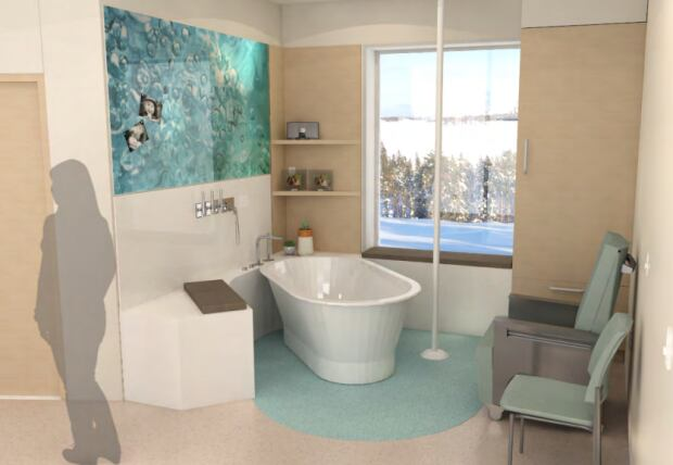 New labour, delivery and recovery room in Stanton Hospital