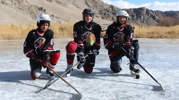 On the frozen ice lakes of Ladakh, women from India gear up to play hockey.