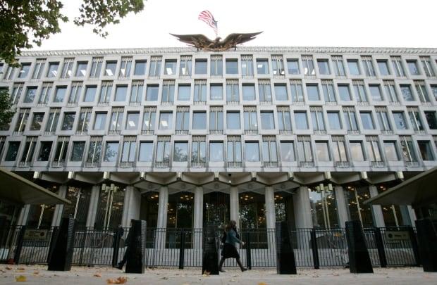 Britain US Embassy