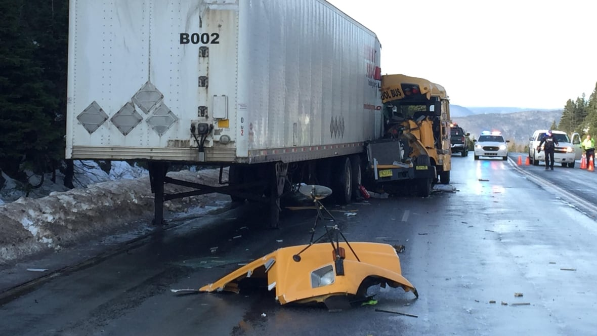 School bus driver seriously injured in Cape Breton crash