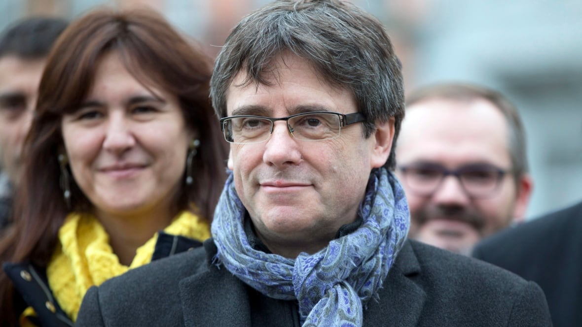 Catalan leader can't run region from Brussels, Spain says