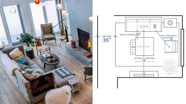 Design By Numbers Simple Standards To Instantly Improve Your Living Room Layout Cbc Life