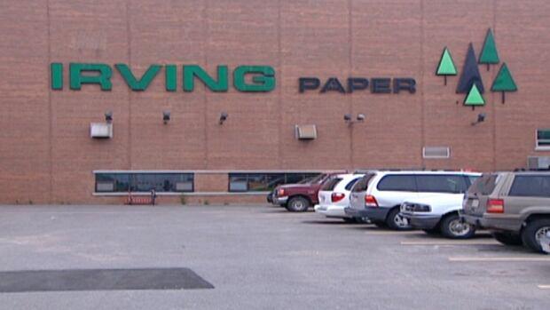 Irving Paper mill, Bayside Drive, Saint John