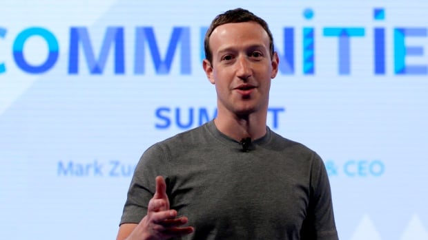 Facebook CEO Mark Zuckerberg speaks as he prepares for the Facebook Communities Summit in Chicago in this June 2017 photo. Facebook is once again tweaking the formula it uses to decide what people see in their news feed to focus more on personal connections and take the spotlight off brands and news articles.