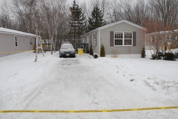 Martin murder scene