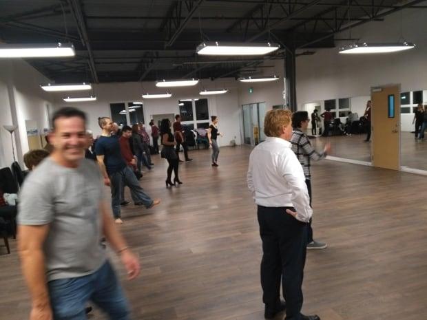 People dancing in class at DownStreet Dance Studio in Charlottetown