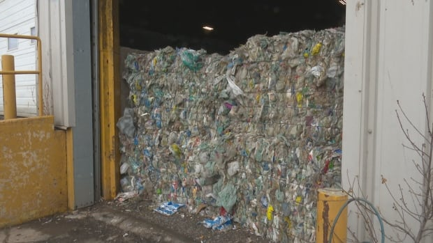 More than 100 tonnes of garbage has been piling up on P.E.I. after China said it would not accept as many recyclables from overseas.