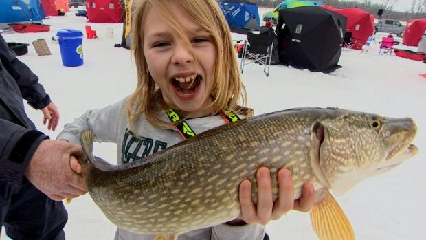 More than 1,800 people were at this year's KidFish derby near Selkirk, Man.