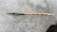 936 year old Copper arrow head