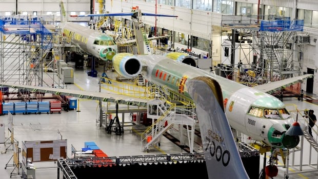 Bombardier Aerospace facility in Toronto is up for sale because spokesperson Olivier Marcil says the land is near subway stations, universities and Highway 401 making it potentially very valuable.