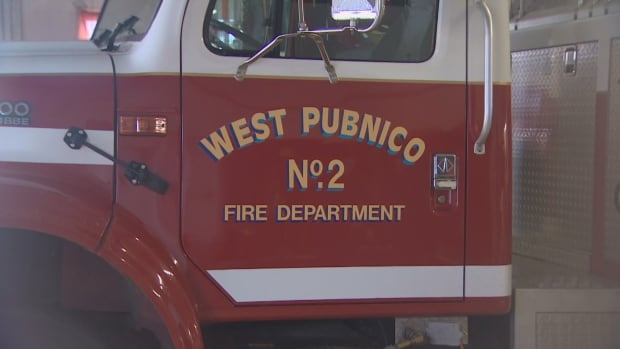 A community meeting was held at the West Pubnico Fire Department on Friday evening to help residents grieving after a deadly fire that killed four children.