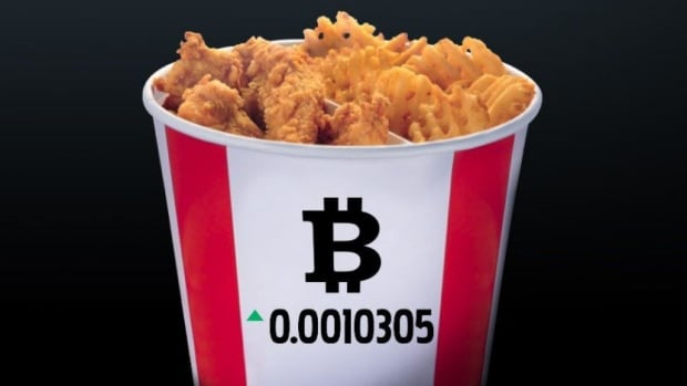 KFC Canada Is Accepting Bitcoin For Fried Chicken