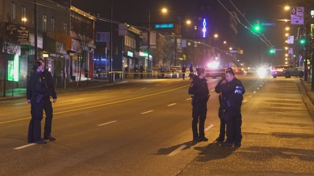 15-year-old bystander in serious condition after shooting in Vancouver