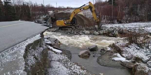 Crews at Rattler Brook
