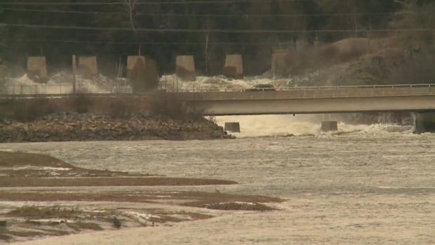 Musquash dam