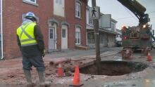Water main breaks Charlottetown