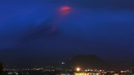 Thousands in Philippines flee, brace for 'hazardous eruption' of volcano