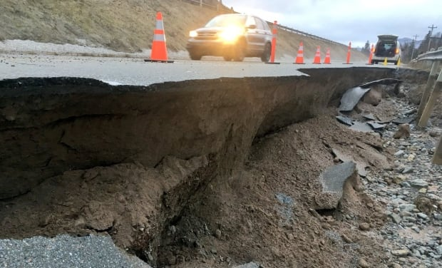 TCH near Corner Brook washout