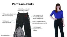 Pants-on-pants invention