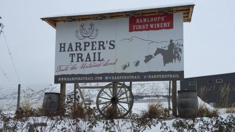 Got a few million? Harper's Trail winery in Kamloops, B.C., could be yours