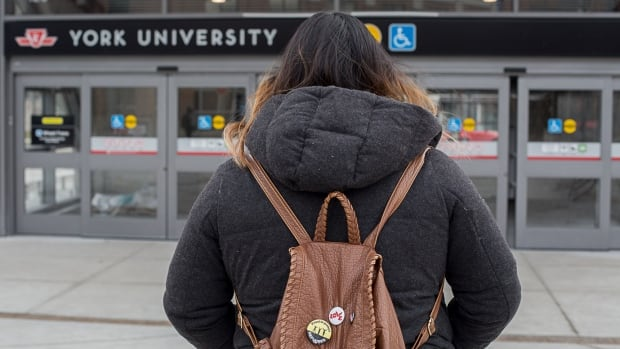 Rosa is part of a group of 10 students with precarious refugee status to enter York University. CBC Toronto is not showing her face and is withholding her last name because her case is still being processed.