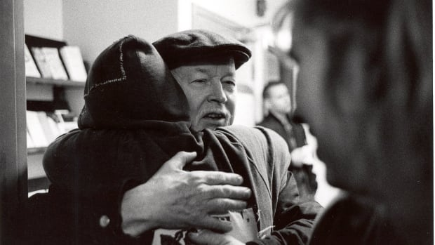 Father Emmett Johns founded Dans la rue in 1988. He died on Saturday at 89.