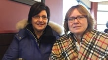 Shelley Wark-Martyn and Kathy Antier