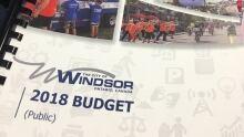 Windsor 2018 budget