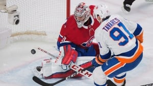 Habs come up short as Tavares plays overtime hero for Islanders