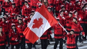 Watch Canada unveil Olympic flag-bearer for Pyeongchang
