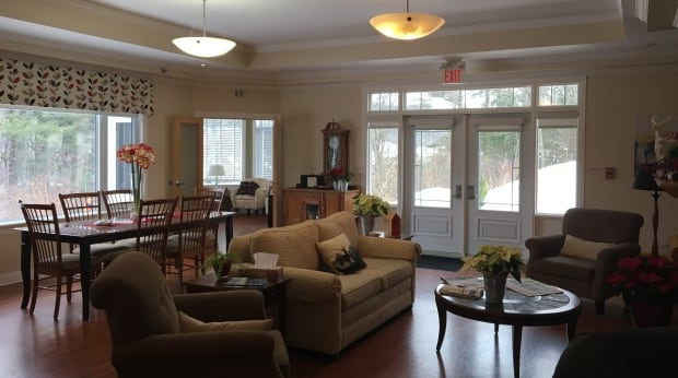 Hospice Renfrew Living Room