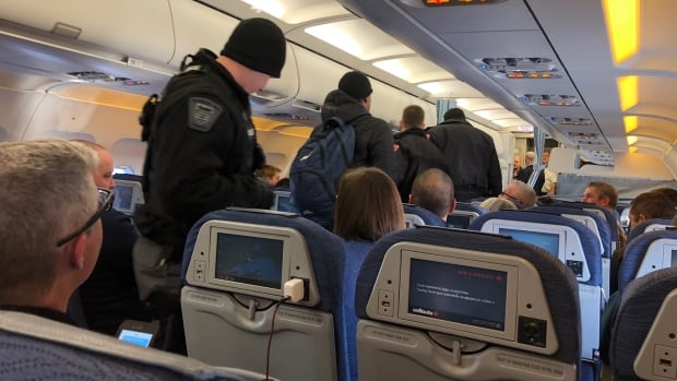 Police say a 31-year-old man from Ottawa has been charged with assault in an aircraft in flight after an Air Canada flight from Edmonton to Toronto was diverted to Thunder Bay on Friday, Jan. 12.