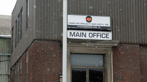 As of Tuesday, 170 unionized workers were back at work at Hamilton Specialty Bar, a steel company that entered receivership last week.