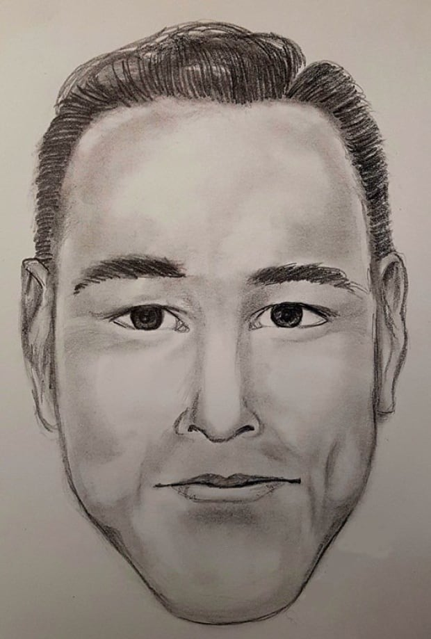 Surrey RCMP fake police officer thief composite sketch