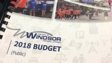 Windsor city budget