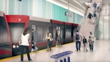 Green Line LRT concept drawings