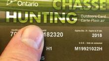 Ontario Outdoors Card 2018