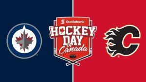 Hockey Night in Canada: Jets vs. Flames