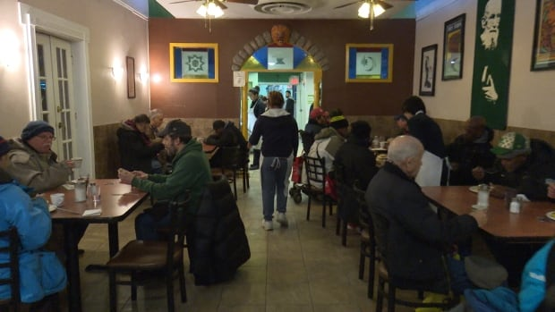 St. Francis Table in Toronto's Parkdale neighbourhood is a restaurant run by the Capuchin Franciscan Friars of Central Canada, where meals cost $1. Catering to the poor, the restaurant is seeing more and more patrons who work at minimum wage jobs.