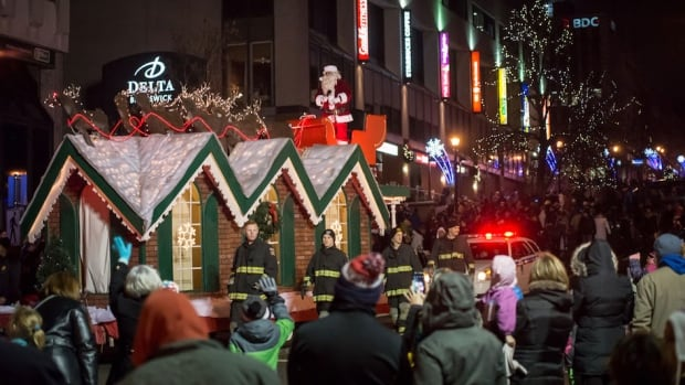 What you need to know about the Saint John Santa Claus Parade - CBC.ca