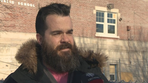 John Burridge, a parent at Palmerston Avenue Junior Public School, says he has been concerned about the safety of a construction project at the school for some time. On Monday, a piece of scaffolding struck a student.