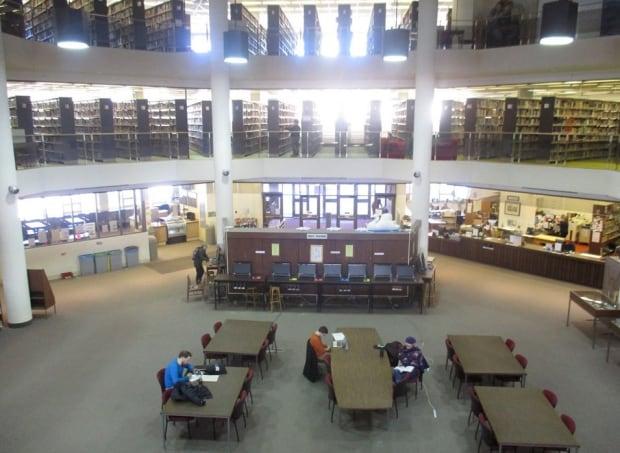 Mount Allison library