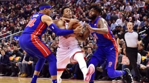 Raptors win 'the ugly way' with 4th quarter comeback vs. Pistons