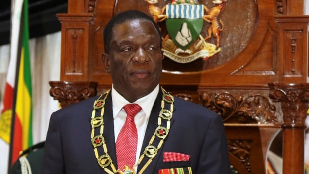 Zimbabwean President Mnangagwa continues with diplomatic blitz with trip to Namibia