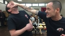 Safe International at St. Patrick High School teaching self defence