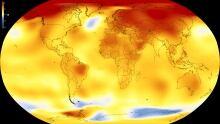 NASA global temperature