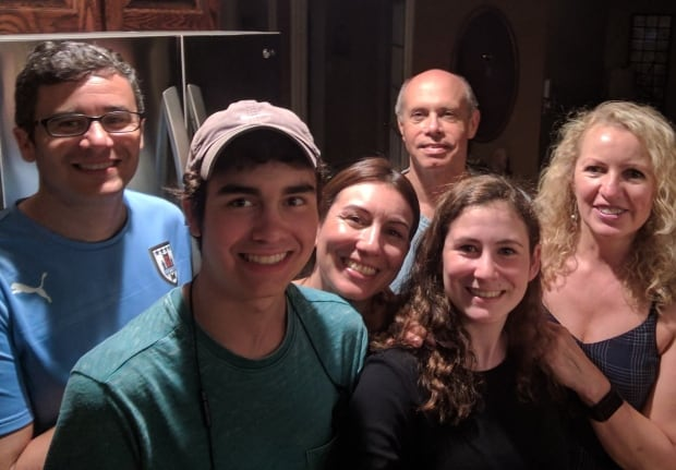 Alma Lake, Adriana Anon, and families
