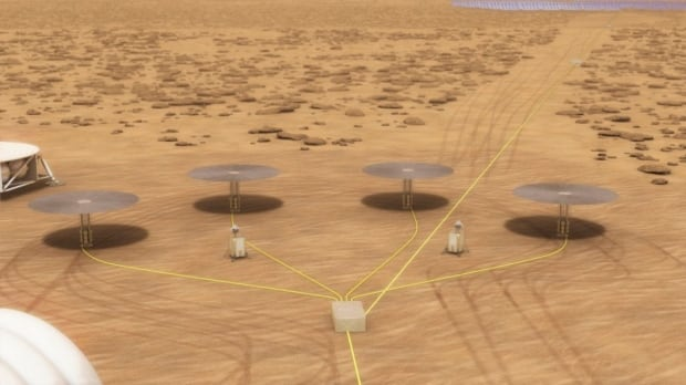 Nasa tests nuclear power system to sustain astronauts on Mars
