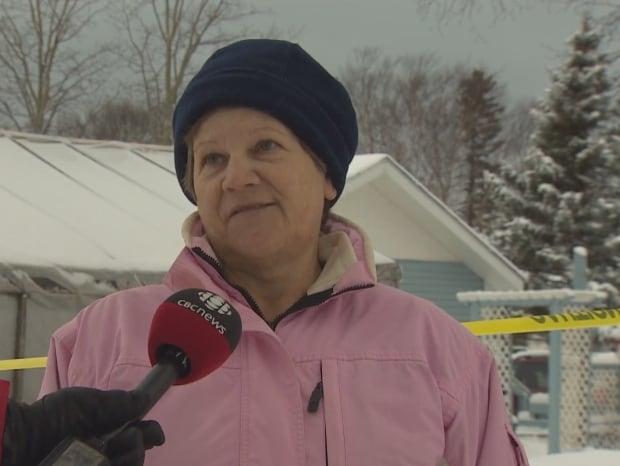 Christine may deer lake evacuated flood