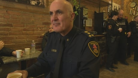 Police Chief Al Frederick talks safety, his successor at 'Coffee with a Cop' thumbnail